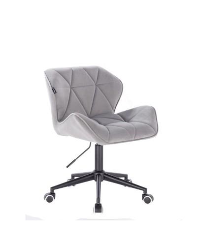 Krzesło obrotowe PETYR stalowe - czarne kółka