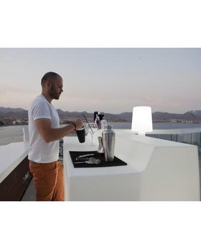NEW GARDEN barek SICILIA 120 C biały - LED