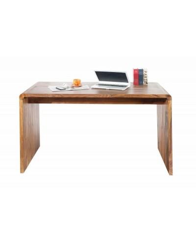 INVICTA biurko GOA 150 cm Sheesham - drewno naturalne