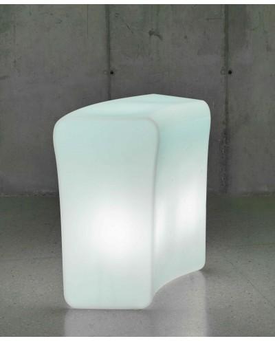 NEW GARDEN barek IBIZA C biały - LED