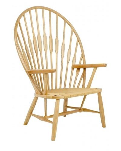 Fotel BOHO PAVO natural - drewno jesionowe, naturalne włókne