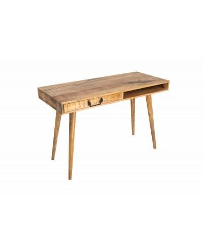 INVICTA biurko RETRO 120 cm Mango - lite drewno