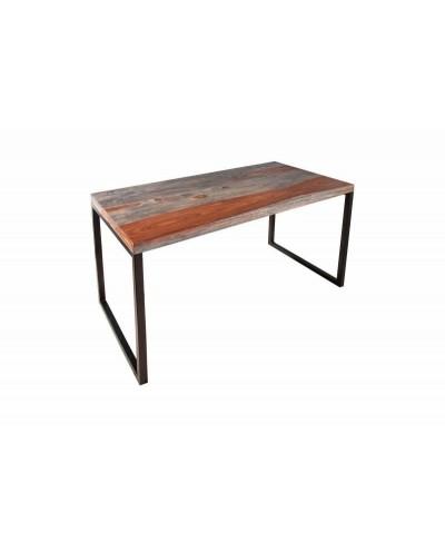 INVICTA biurko ELEMENTS Sheesham 118 cm - dymione, metal
