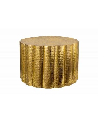 INVICTA stolik kawowy LIQUID LINE 60 złoty - metal
