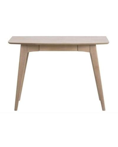 ACTONA biurko WOODSTOCK dąb bielony - MDF, drewno naturalne