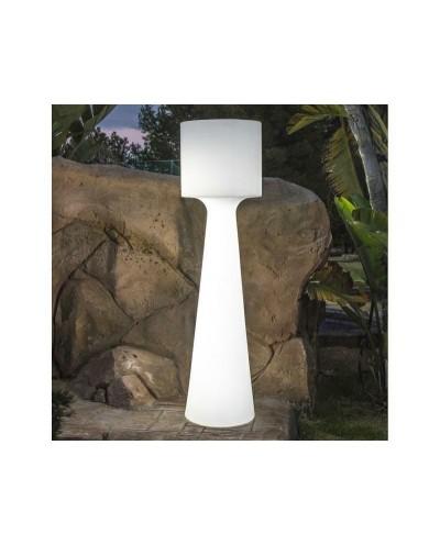 NEW GARDEN lampa ogrodowa GRACE 140 C biała - LED