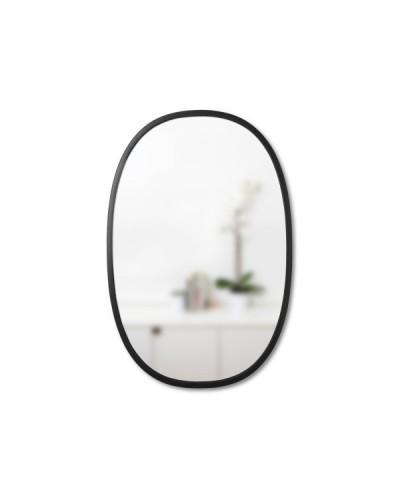 UMBRA lustro wiszące HUB OVAL 24x36 -czarne