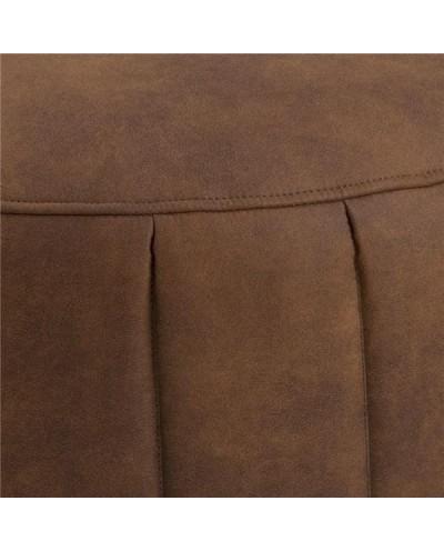 ACTONA pufa DORIA - brązowy