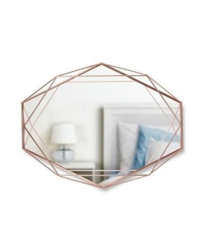 UMBRA lustro PRISMA - miedź