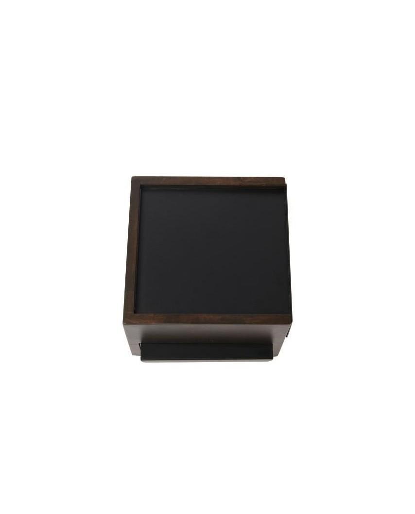 UMBRA pojemnik na biżuterię STOWIT MINI -czarny,orzech
