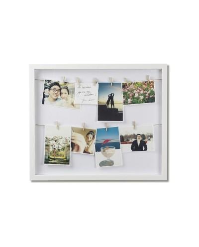 UMBRA ramka na zdjęcia CLOTHESLINE biała