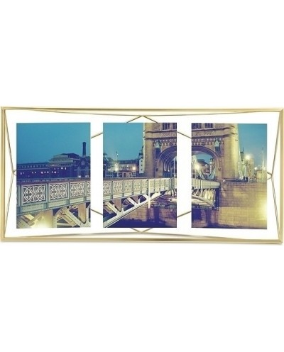 UMBRA ramka na zdjęcia PRISMA MULTI - złota