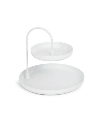 UMBRA stojak na biżuterię POISE - biały