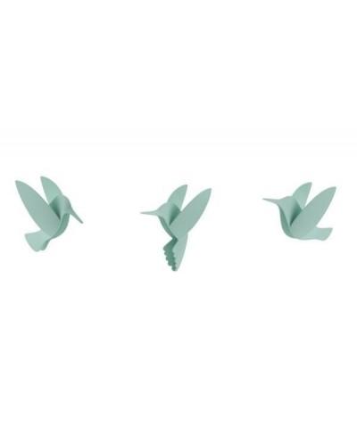 UMBRA dekoracja ścienna HUMMINGBIRD - mix