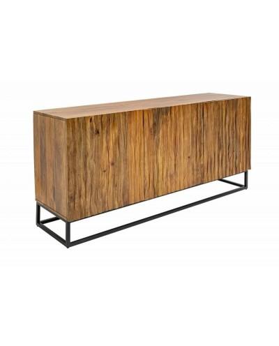 INVICTA komoda AMAZONAS 150 cm Mango - lite drewno, metal