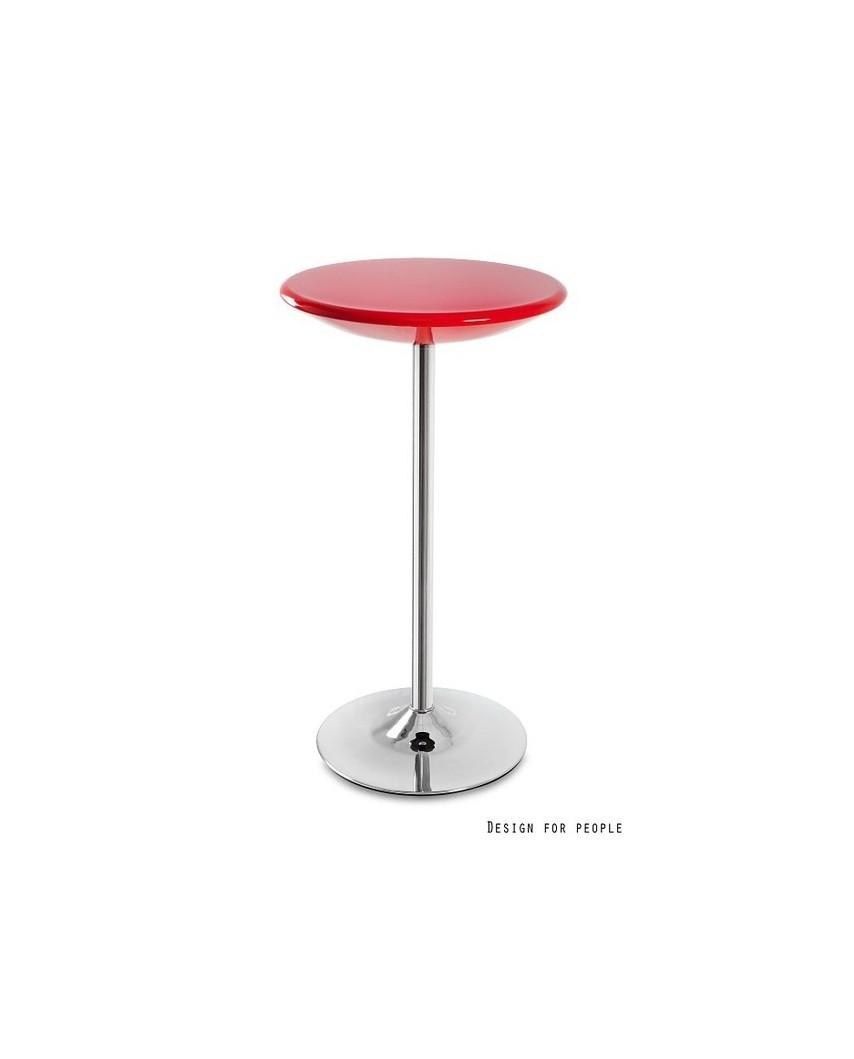 Round - stolik czerwony