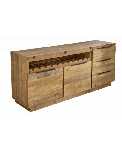 INVICTA komoda FINCA 175 cm sosna - drewno naturalne, metal