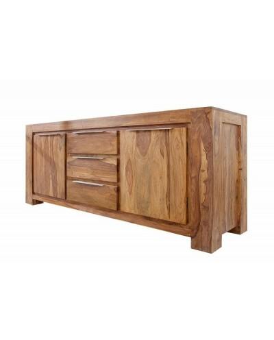 INVICTA komoda GIANT 175 cm Sheesham - drewno naturalne, aluminium
