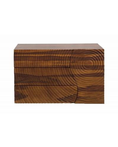 INVICTA komoda ILLUSION 120 cm Sheesham - drewno naturalne