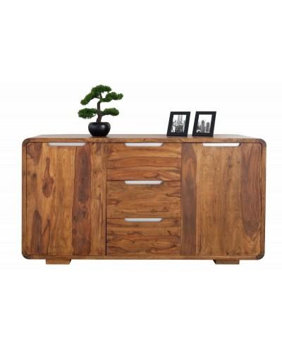 INVICTA komoda GOA 145 cm Sheesham - drewno naturalne,