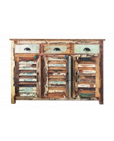 INVICTA komoda JAKARTA 125 cm - drewno naturalne