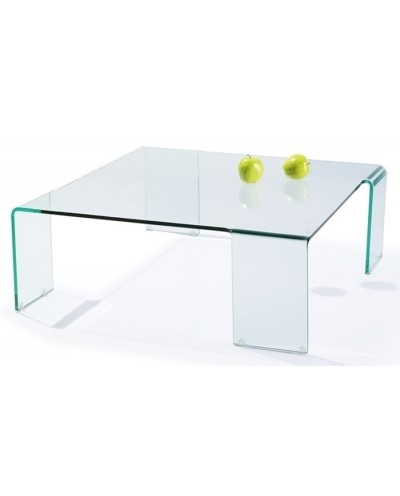 Stolik szklany NEUTRA SQUARE - szkło transparentne