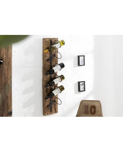 INVICTA stojak na wino EUPHORIA - BARRACUDA 100 cm, drewno tekowe