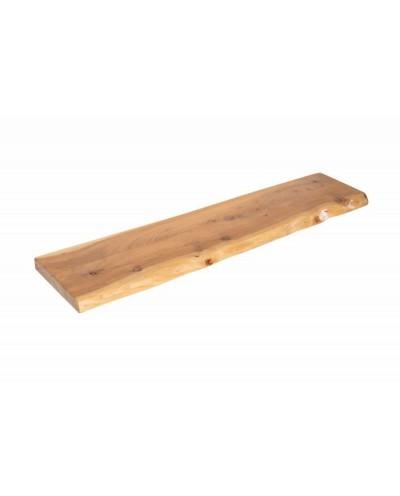 INVICTA półka ścienna MAMMUT 80 cm - akacja, drewno naturalne